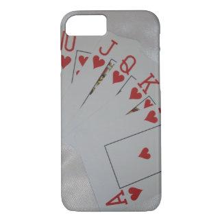 Royal Heart Flush, iPhone 8/7 Case