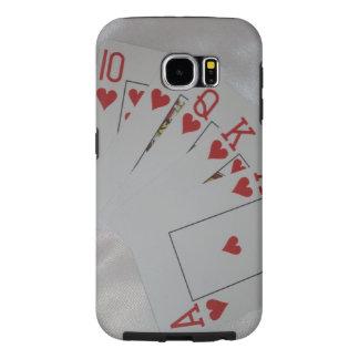 Royal Heart Flush, Samsung Galaxy S6 Case