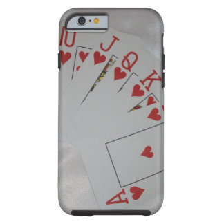 Royal Heart Flush, Tough iPhone 6 Case