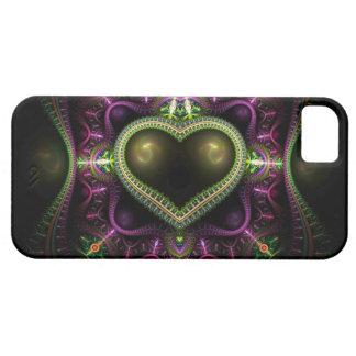 Royal Heart Fractal iPhone 5 Case