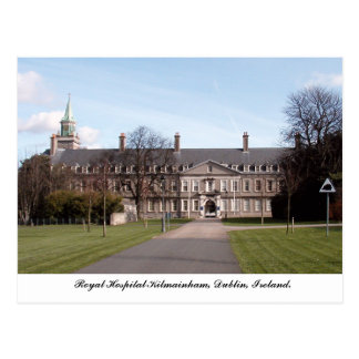 Royal Hospital Kilmainham, Dublin Ireland Postcard