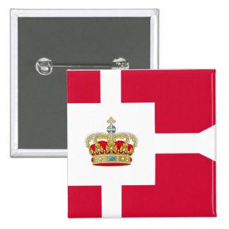 Royal House Of Denmark, Greenland Pinback Button
