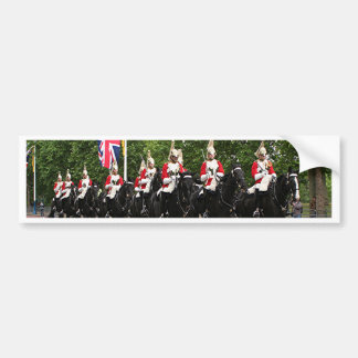 Royal Household Cavalry, London Bumper Sticker