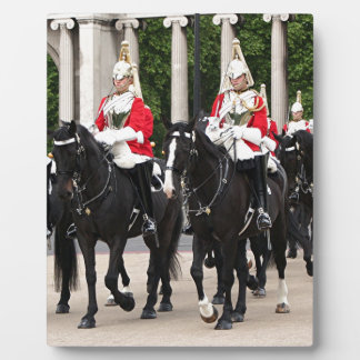 Royal Household Cavalry, London, England Display Plaque