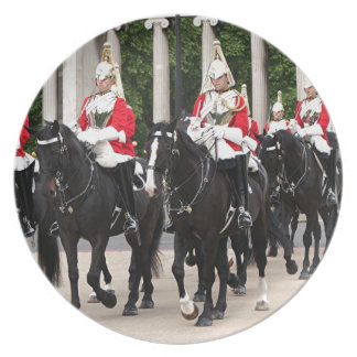 Royal Household Cavalry, London, England Party Plates