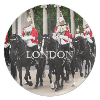 Royal Household Cavalry, London Melamine Plate