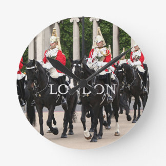 Royal Household Cavalry, London Round Clock