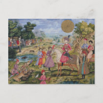 Royal Hunt, from Isfahan, Iran Postcard