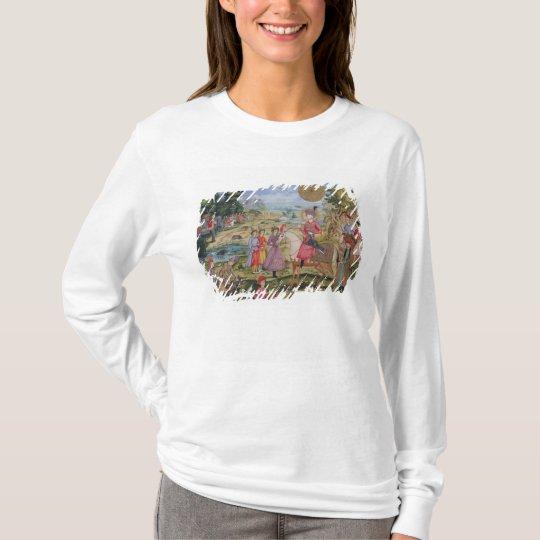 Royal Hunt, from Isfahan, Iran T-Shirt