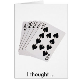 royal, I thought ... Card