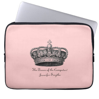 Royal in Pink Laptop Sleeve