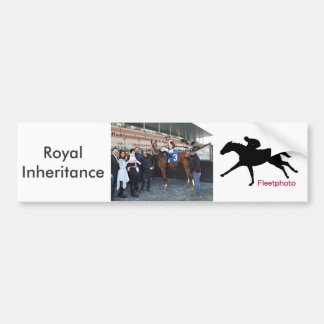 Royal Inheritance - Manuel Franco Bumper Sticker