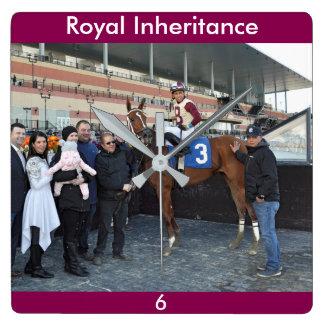 Royal Inheritance - Manuel Franco Square Wall Clock