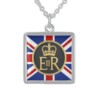 Royal Jubilee Insignia Personalized Necklace