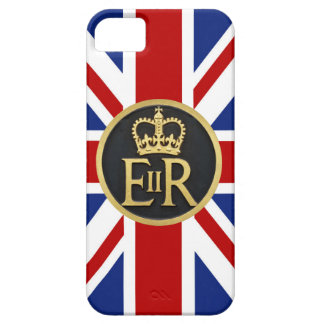 Royal Jubilee Insignia of England iPhone SE/5/5s Case