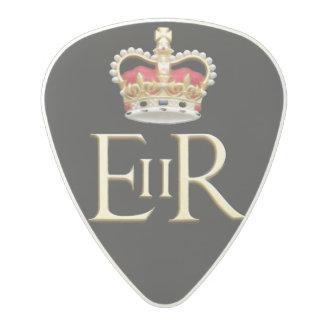Royal Jubilee Insignia Polycarbonate Guitar Pick