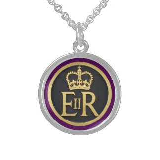 Royal Jubilee Insignia Sterling Silver Necklace