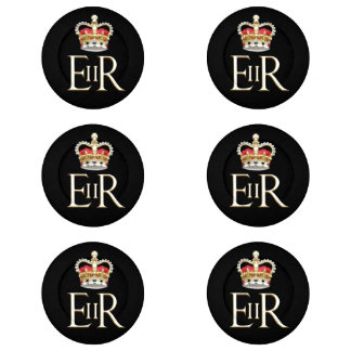 Royal Jubilee UK Button Covers
