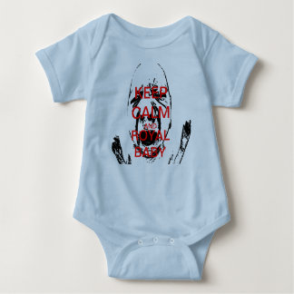 ROYAL KEEP CALM AND BABY BABY BODYSUIT