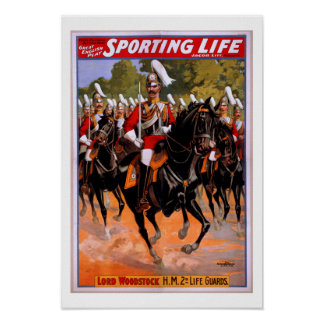 Royal Life Guards Horse Cavalry Poster