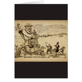 Royal Lilliputians Card