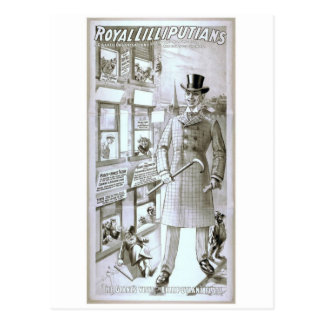 Royal Lilliputians Postcard