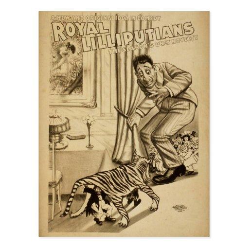 Royal Lilliputians, 'The Seasons only Novelty' Postcard