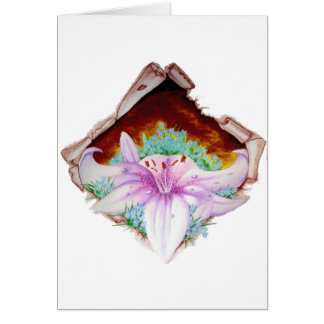 Royal lilly card