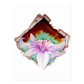 Royal lilly postcard