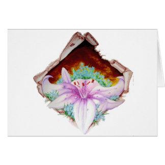 Royal lily card