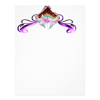 Royal lily letterhead