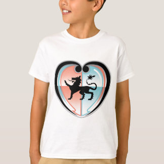 Royal lion Hearty Shield T-Shirt