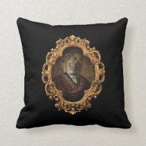 Royal Lion King Framed Portrait Restaurant Pillow