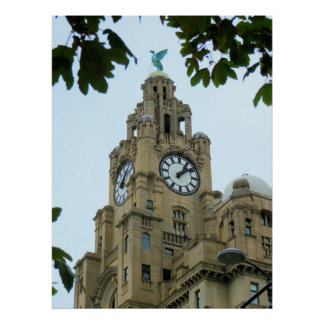 Royal Liver Building Liverpool Posters