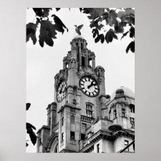 Royal Liver Building Liverpool Print