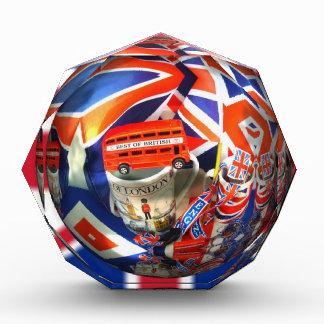 Royal London King Shower Peace Love Destiny Acrylic Award