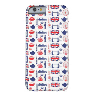 Royal London Landmarks Pattern Barely There iPhone 6 Case