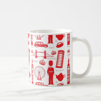 Royal London Landmarks Pattern Coffee Mug