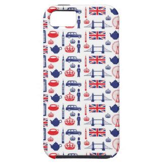 Royal London Landmarks Pattern iPhone SE/5/5s Case