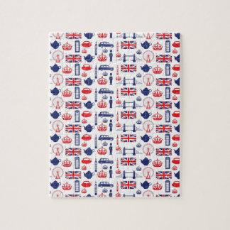 Royal London Landmarks Pattern Puzzles