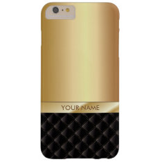 Royal Luxury Gold Custom Name Iphone 6/6s Plus Barely There Iphone 6 Plus Case at Zazzle