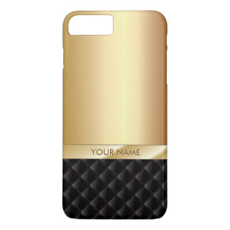 Royal Luxury Gold Custom Name iPhone 7 Plus Case