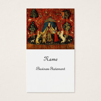 Royal Maiden and Unicorn Business Card