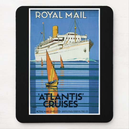 Royal Mail Atlantis Cruises Mouse Pad