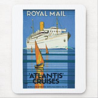 "Royal Mail ""Atlantis Cruises"" Mouse Pad"