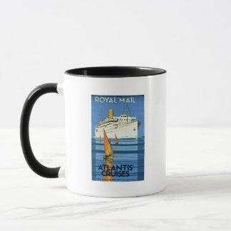 Royal Mail Atlantis Cruises Mug