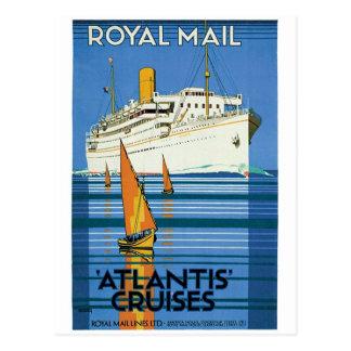 "Royal Mail ""Atlantis Cruises"" Postcard"