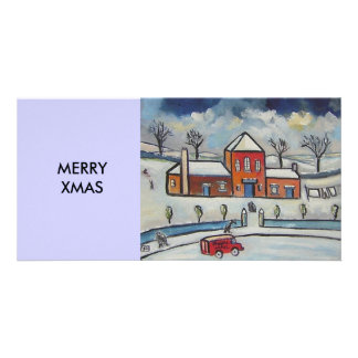 ROYAL MAIL SNOWSCENE CARD