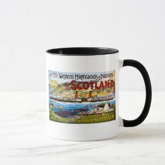 Royal Mail Steamers - Glasgow - Vintage Mug
