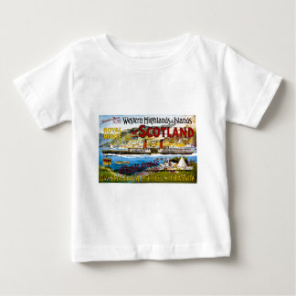 Royal Mail Steamers Scotland Glasgow Vintage Baby T-Shirt